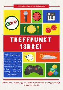 Offener Treff @ Treffpunkt 13drei