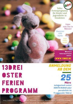 Osterferienprogramm im 13drei