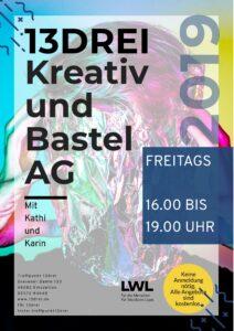 Kreativ AG @ Kinder- und Jugendzentrum Treffpunkt 13drei