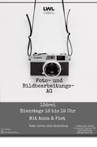 Foto & Bildbearbeitungs AG @ Kinder- und Jugendzentrum Treffpunkt 13drei