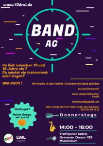 Band AG @ Kinder- und Jugendzentrum Treffpunkt 13drei