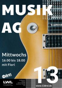 Musik AG @ Kinder- und Jugendzentrum Treffpunkt 13drei