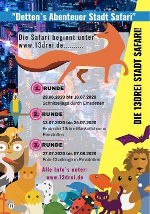 Detten's Abenteuer Stadt Safari