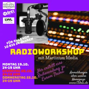 Radio Workshop im 13drei