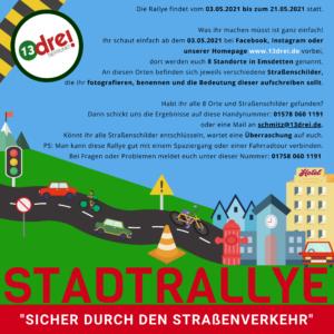 Stadtrallye – Sicher durch den Straßenverkehr